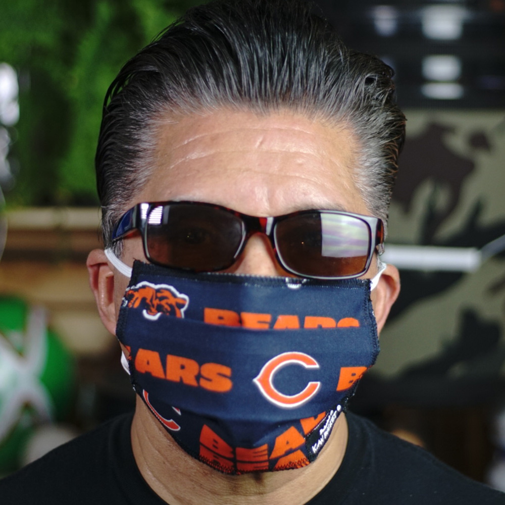 Ican Face Mask – Chicago Bears