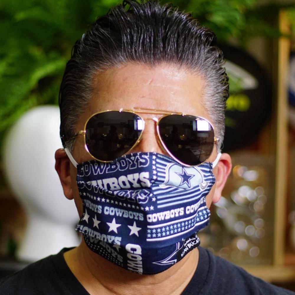 Ican Face Mask – Dallas Cowboys