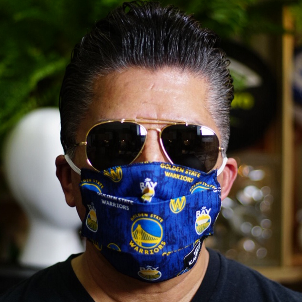 Ican Face Mask – Golden State Warriors – Blue
