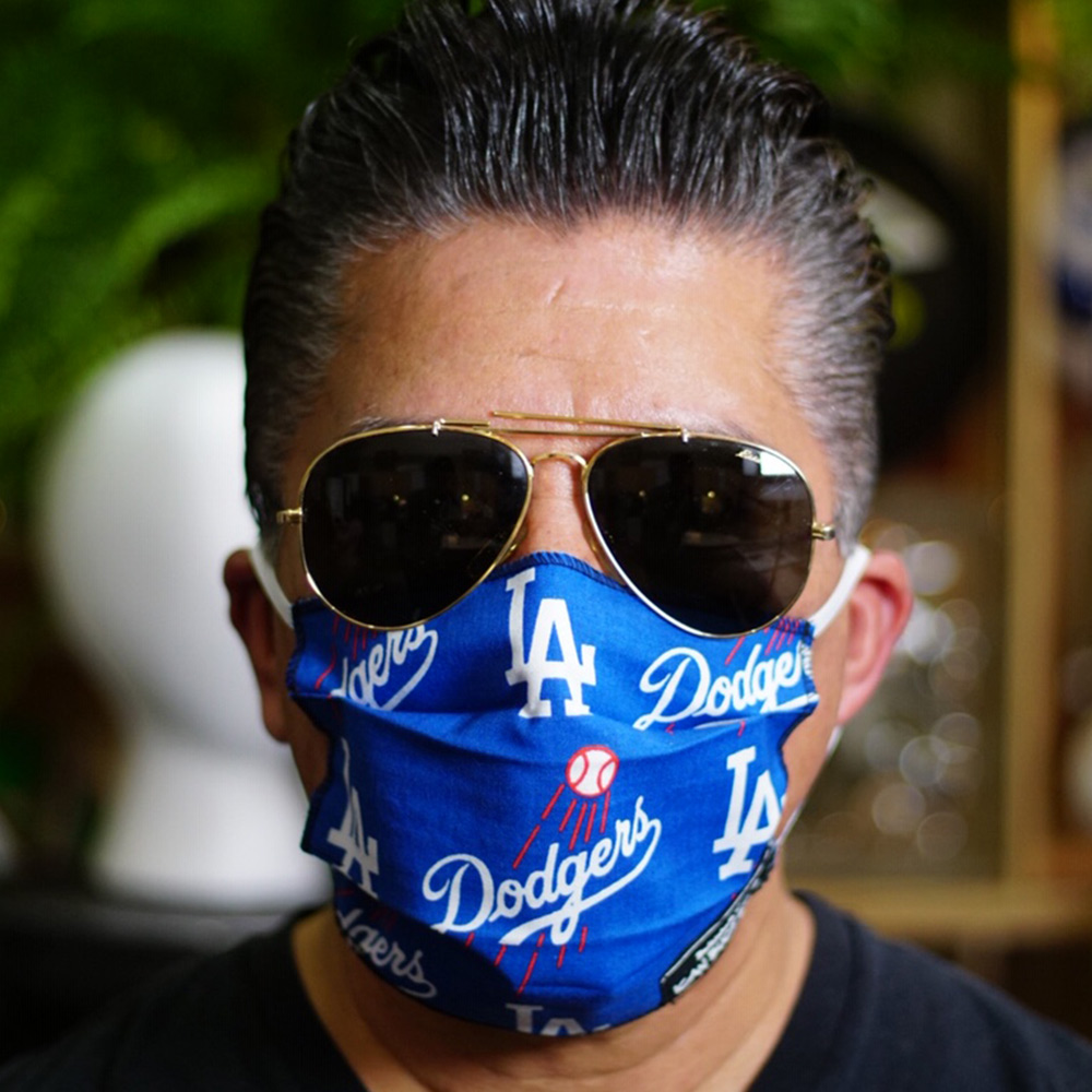 Ican Face Mask – LA Dodgers