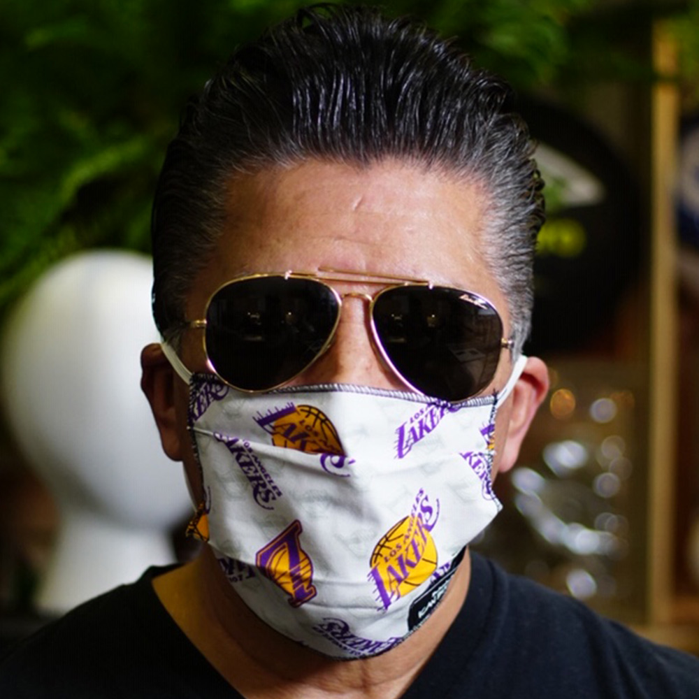 Ican Face Mask – Los Angeles Lakers – V2