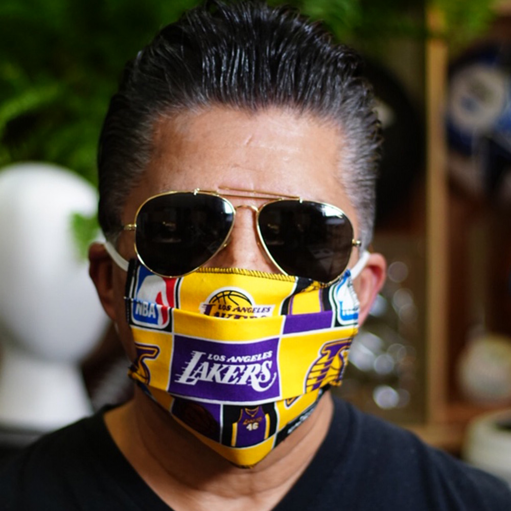 Ican Face Mask – Los Angeles Lakers – V3
