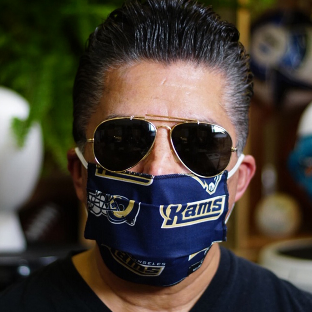 Ican Face Mask – LA Rams