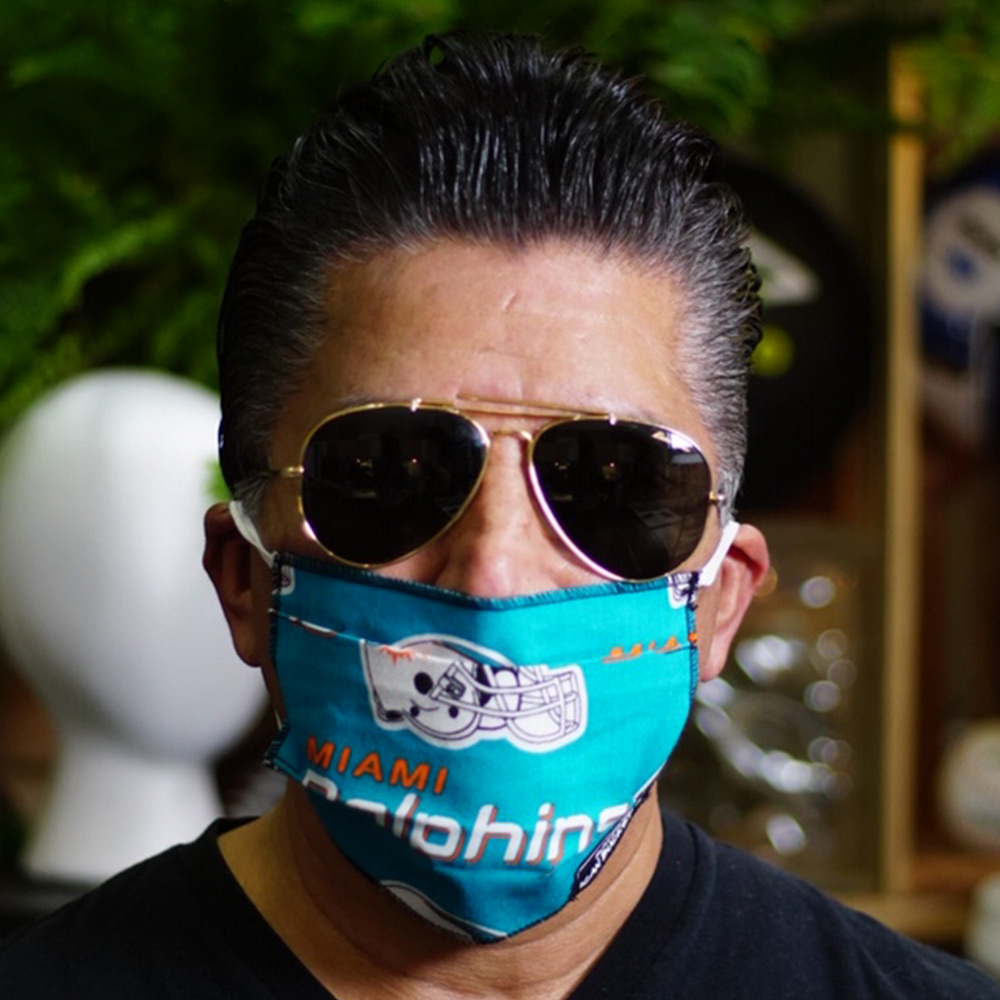 Ican Face Mask – Miami Dolphins