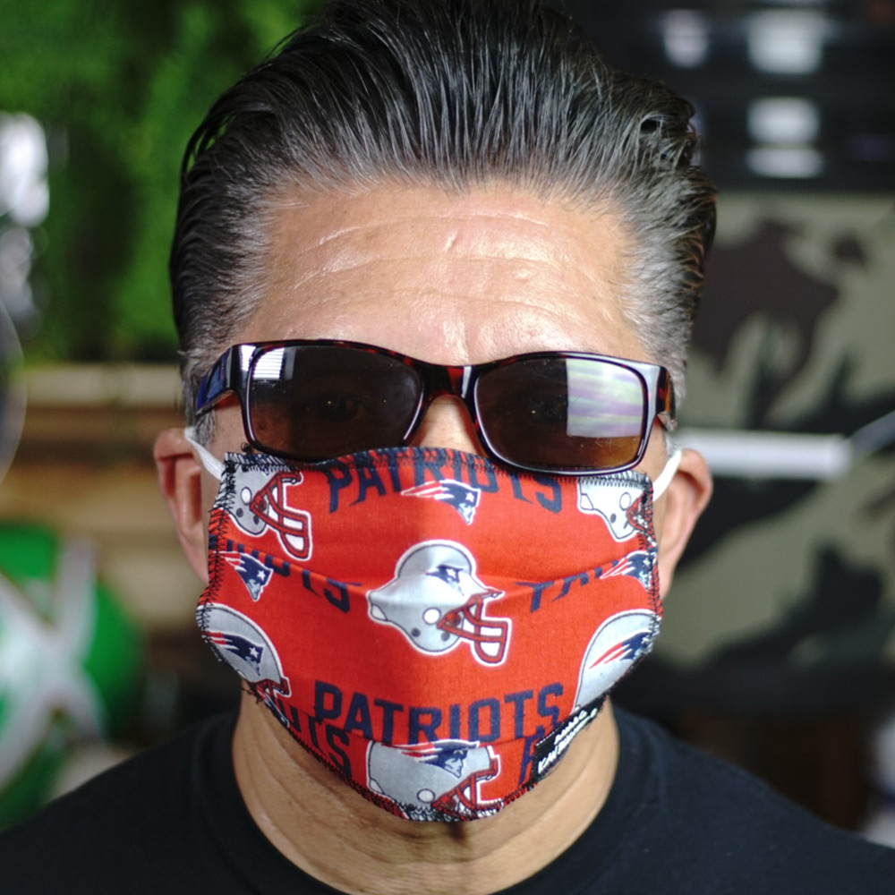 Ican Face Mask – New England Patriots