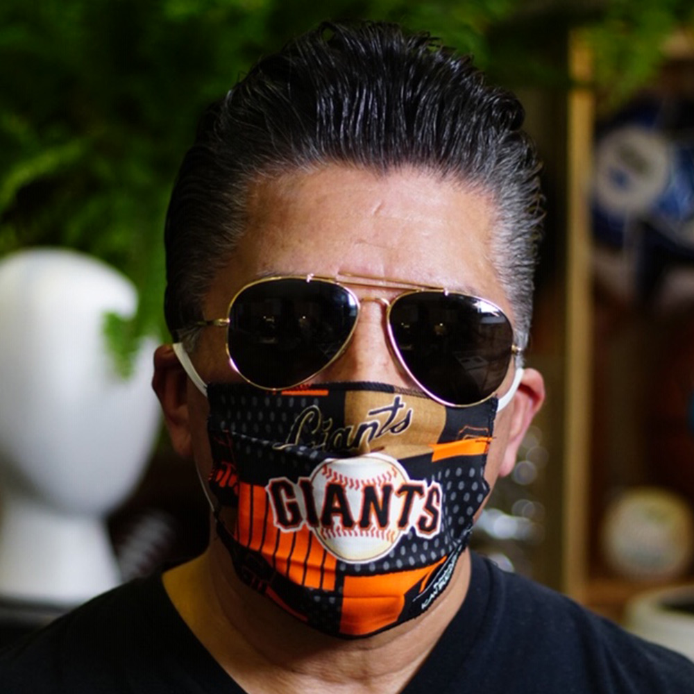 Ican Face Mask – San Francisco Giants – Black MLB
