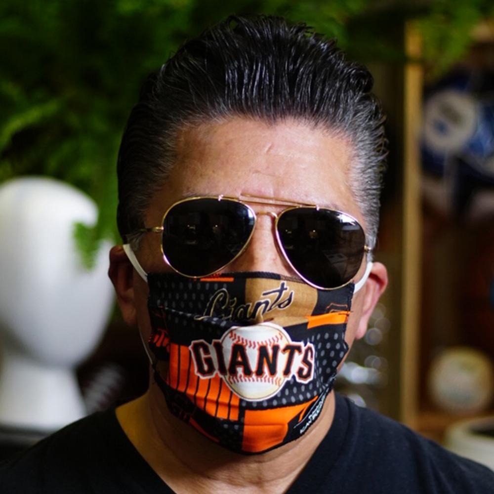 Ican Face Mask – San Francisco Giants – Black MLB