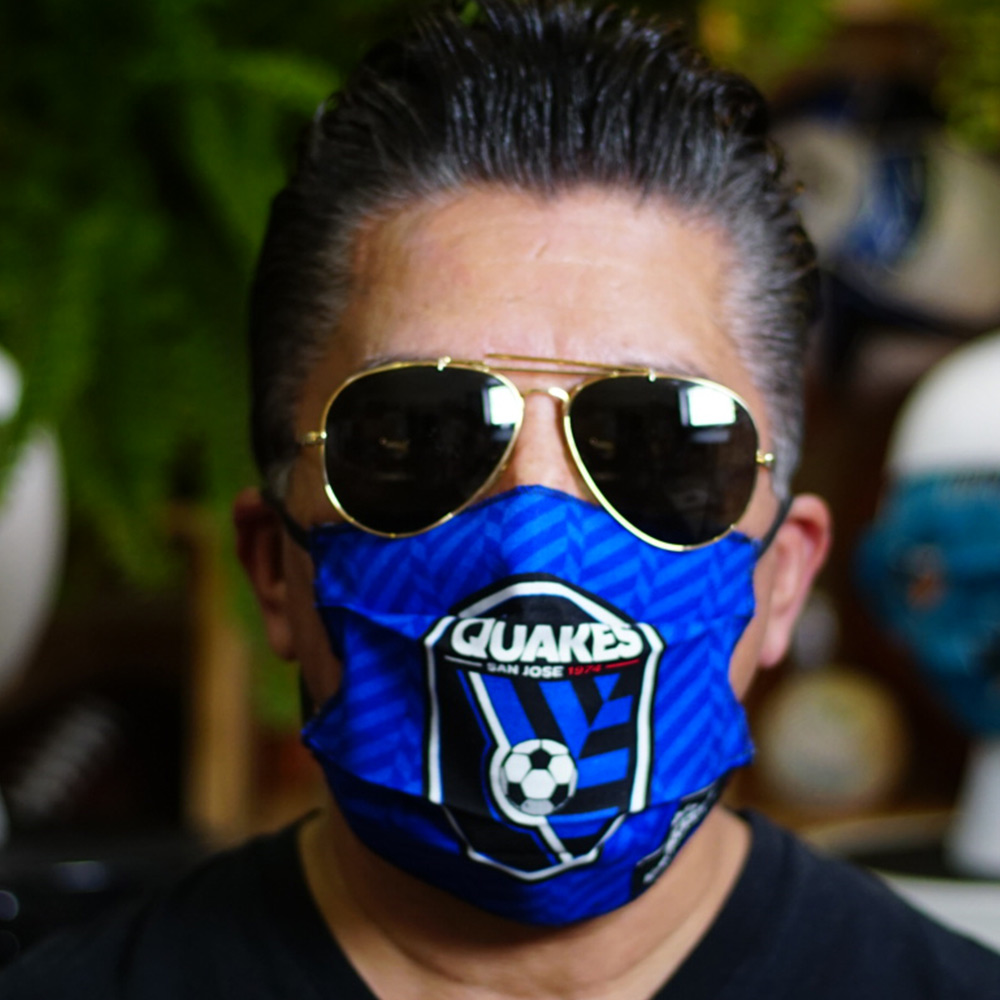 San Jose Earthquakes Cloth Face Mask