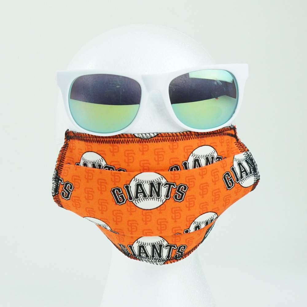 Ican Face Mask – San Francisco Giants – Orange