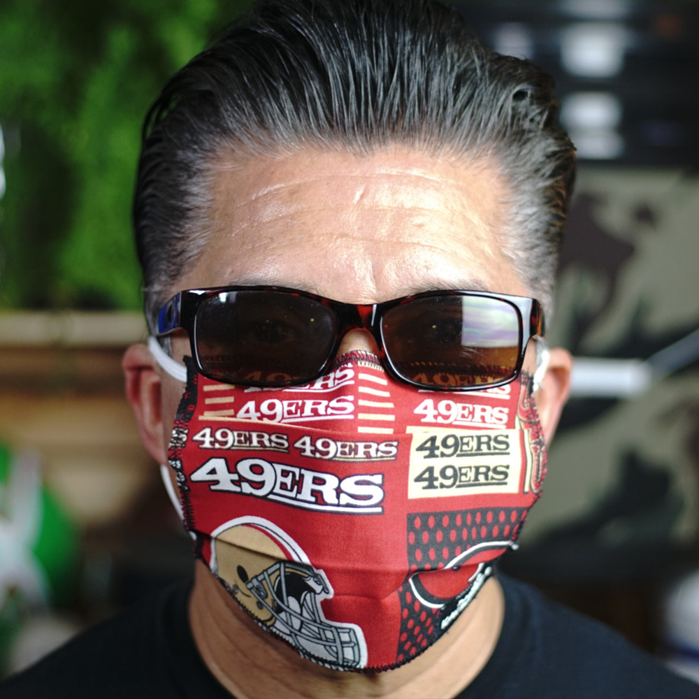 Ican Face Mask – San Francisco 49ers