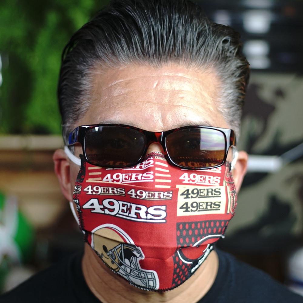 Ican Face Mask – San Francisco 49ers