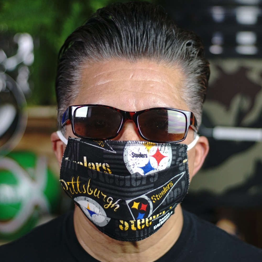 Ican Face Mask – Pittsburgh Steelers