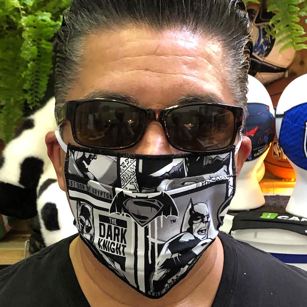 Batman Comic – Face Mask