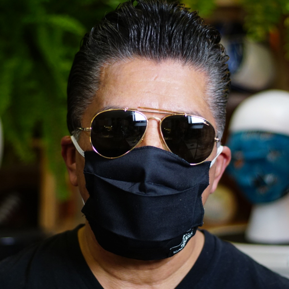Ican Face Mask – Solid Color – Black