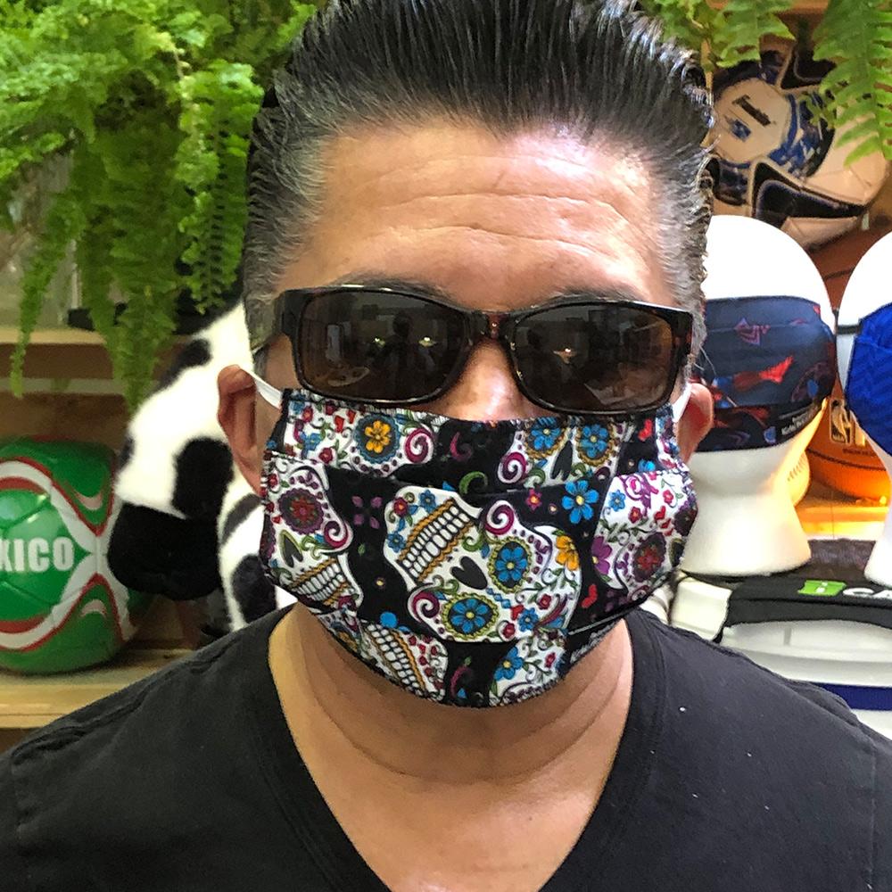 Day Of The Dead Calaveras – Face Mask