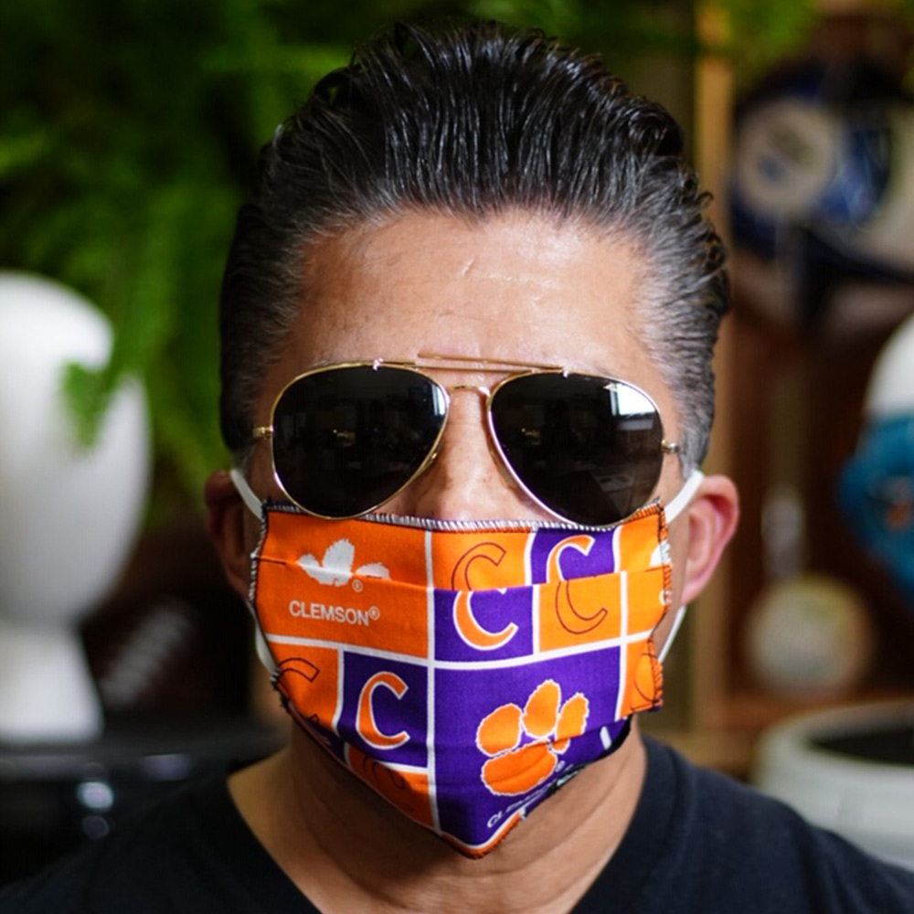 Ican Face Mask – Clemson Tigers