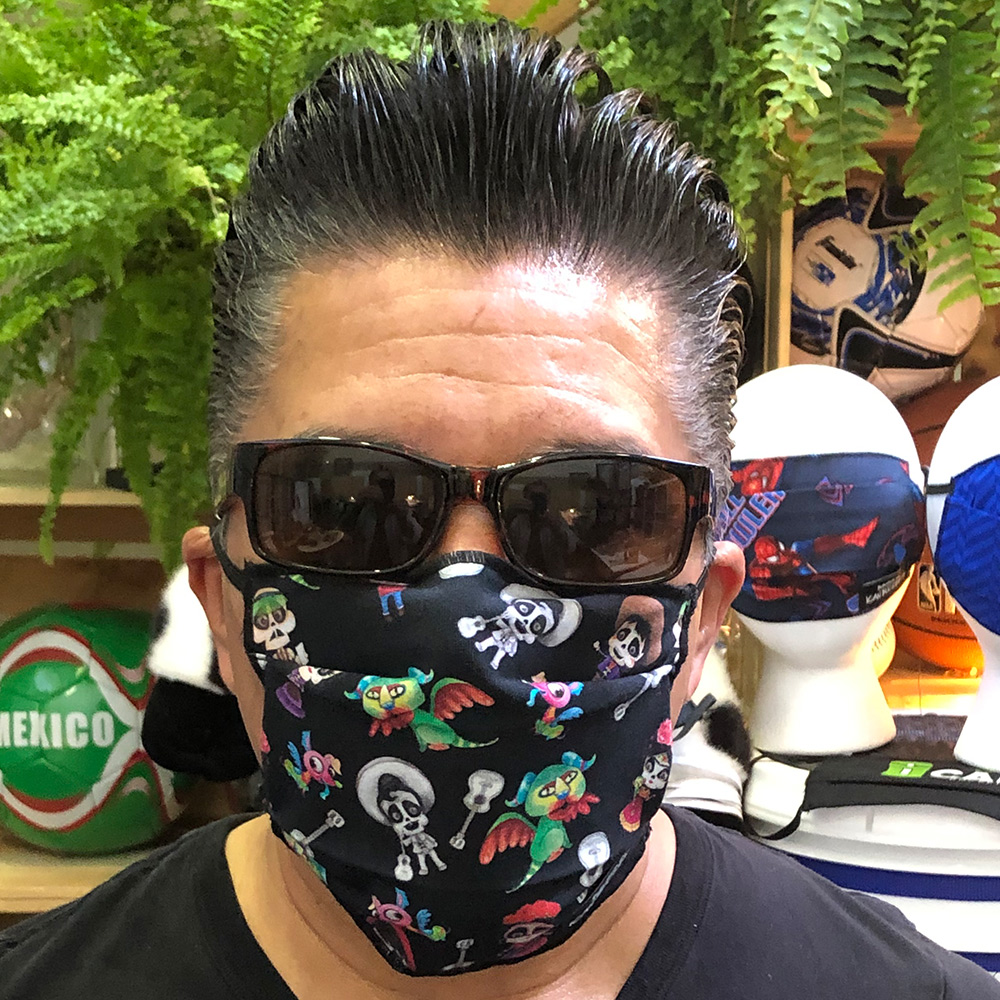Ican Face Mask -Coco Black Party
