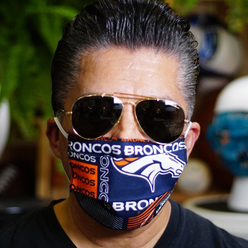 Ican Face Mask – Denver Broncos