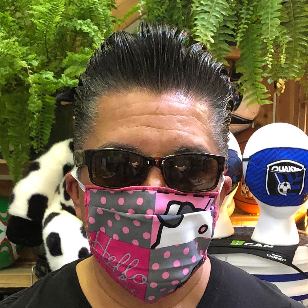 Hello Kitty Dots Block – Face Mask