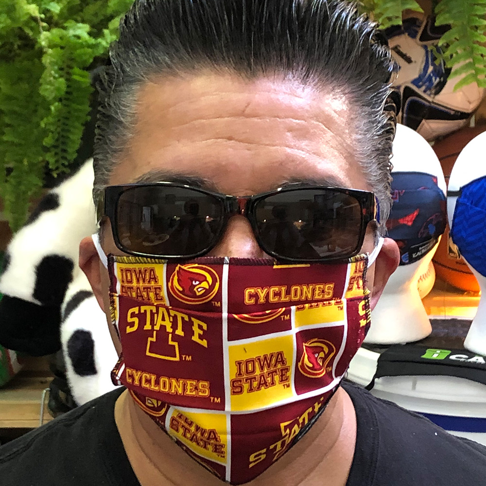 Iowa State – Ican Face Mask