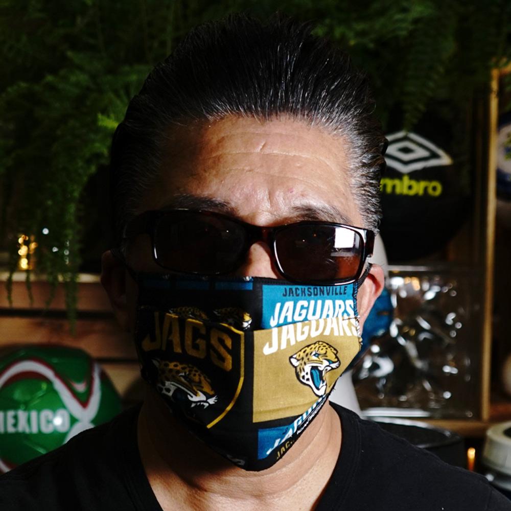 Ican Face Mask – Jacksonville Jaguars