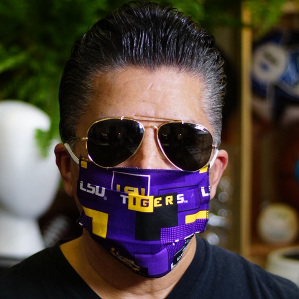 Ican Face Mask – LSU Tigers