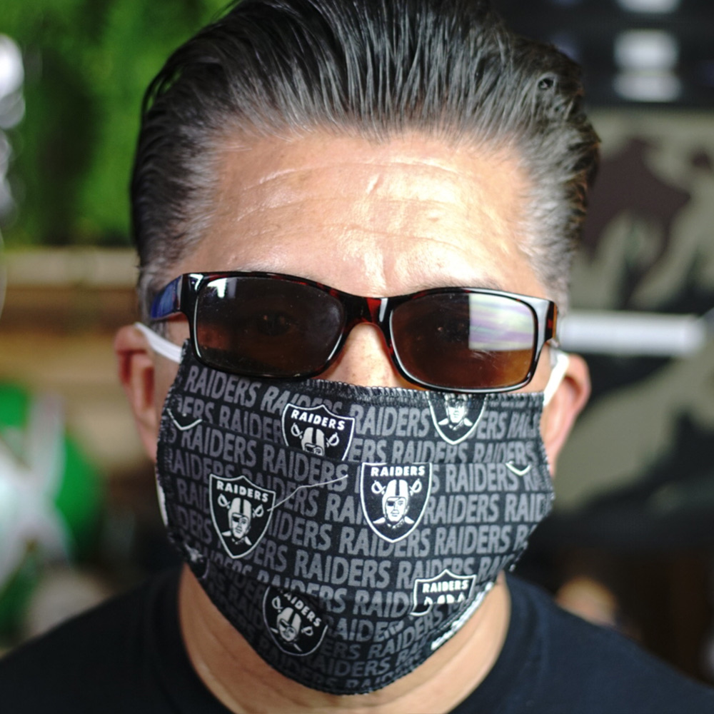 Ican Face Mask – Las Vegas Raiders V3