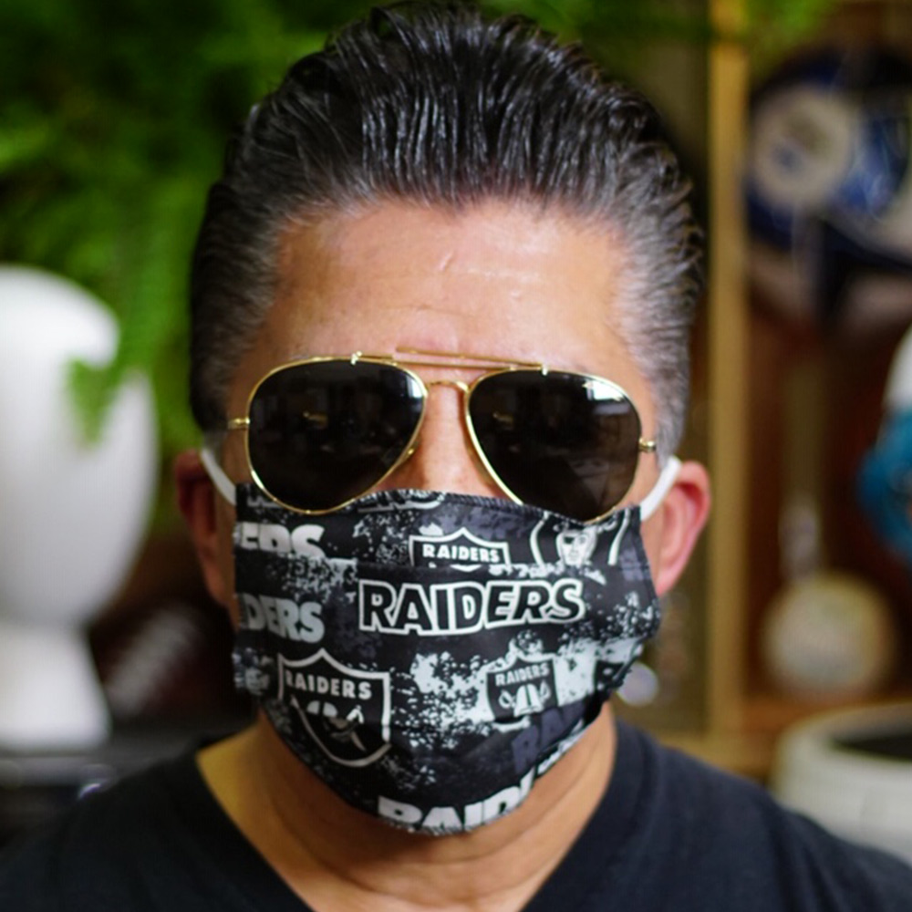 Ican Face Mask – Las Vegas Raiders