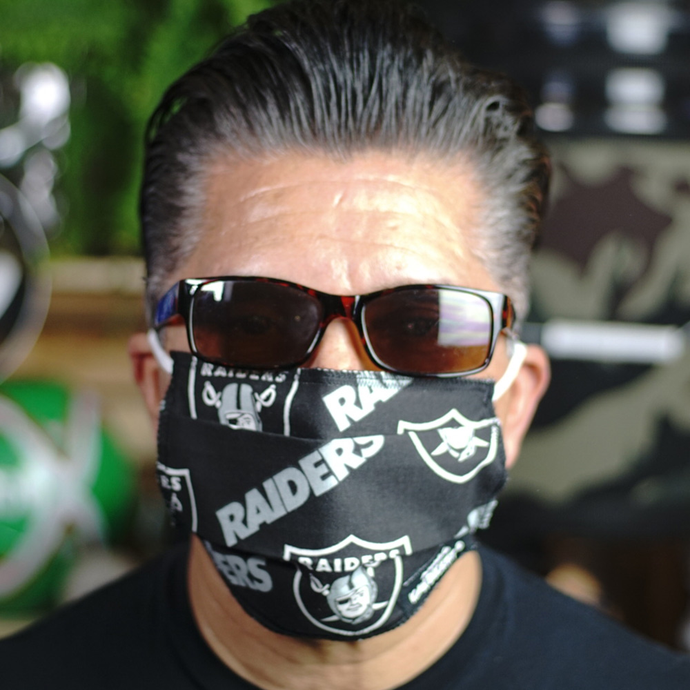 Ican Face Mask – Las Vegas Raiders V2