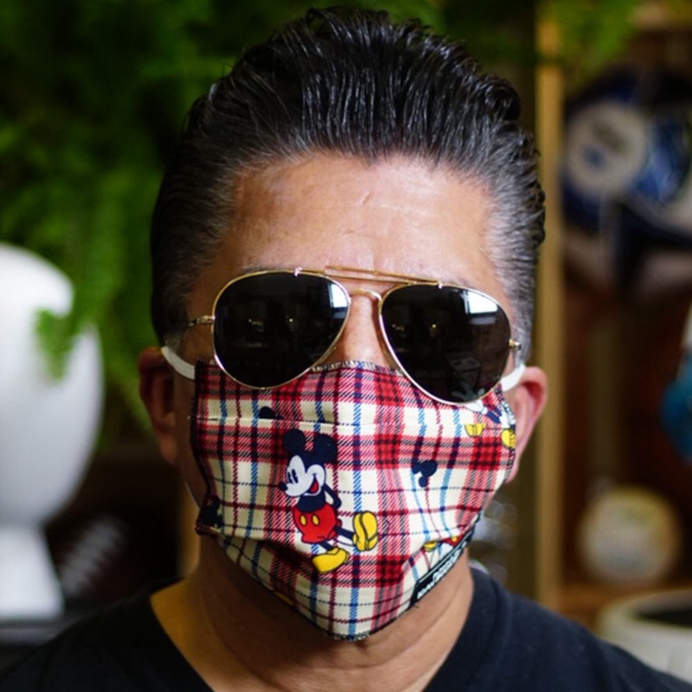 Ican Face Mask – Mickey Mouse Pattern