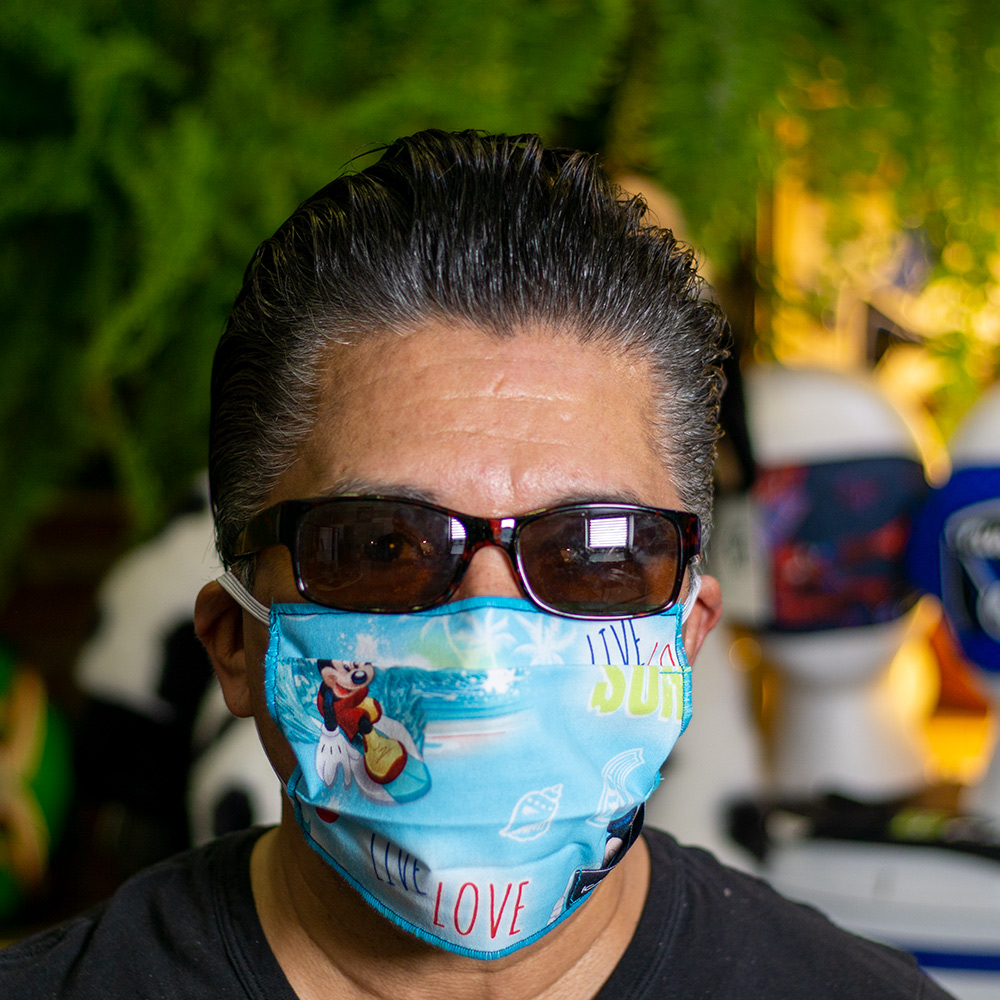 Ican Face Mask Solid Color – Micky Mouse Surf
