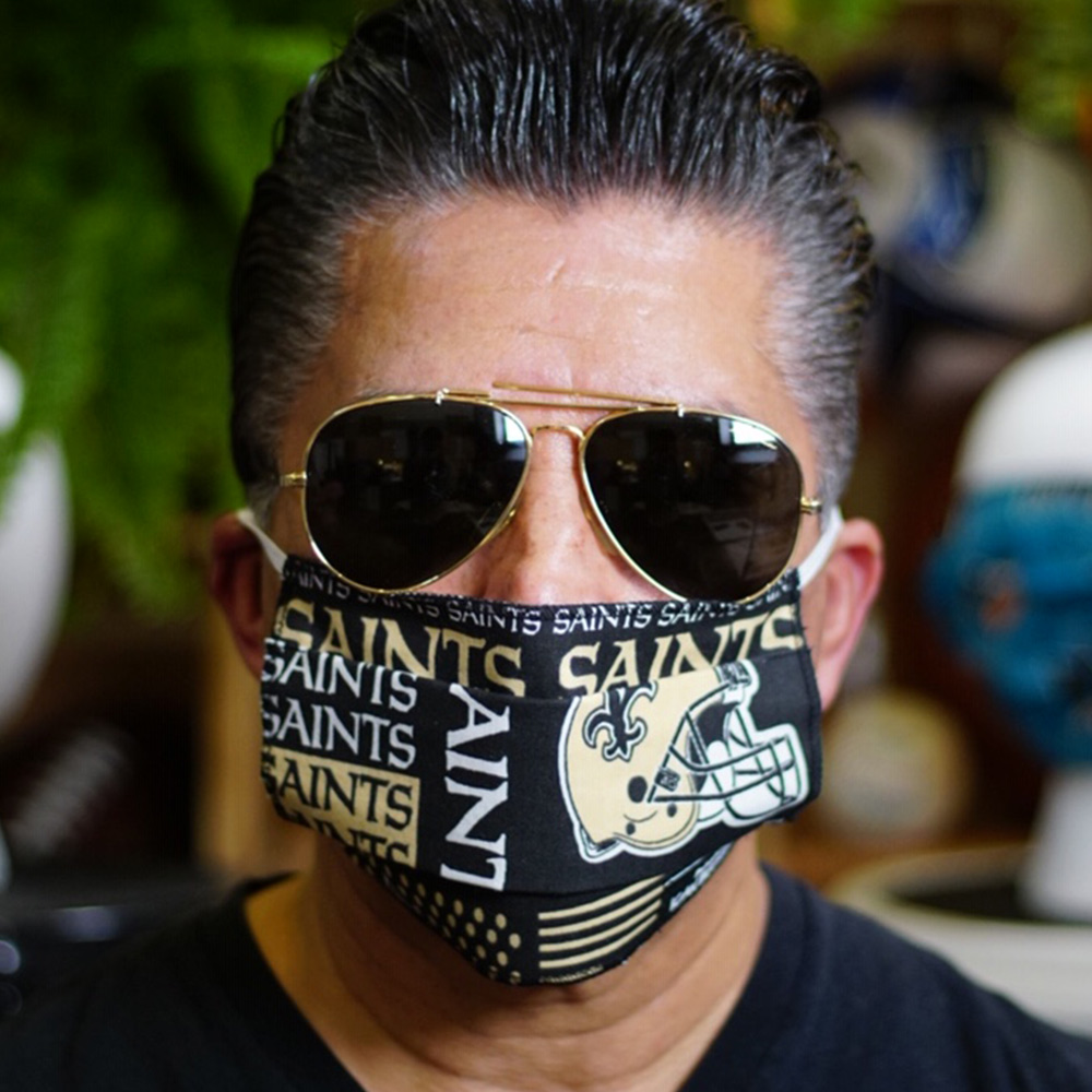 Ican Face Mask – New Orleans Saints
