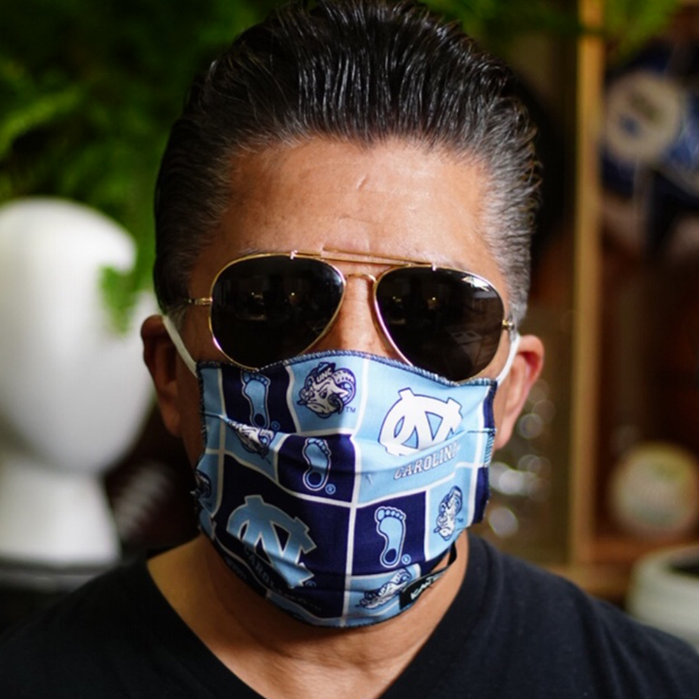 Ican Face Mask – North Carolina Tar Heels