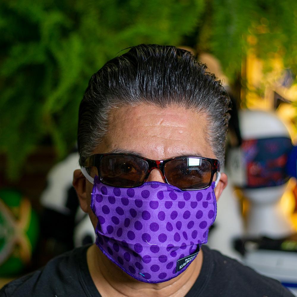 Ican Face Mask Solid Color – Purple Pocodot