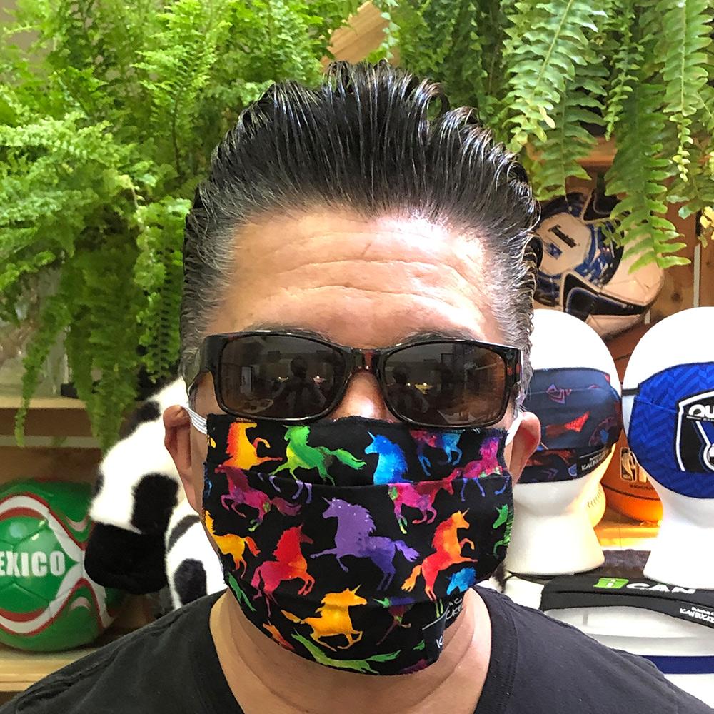 Rainbow Unicorns – Face Mask