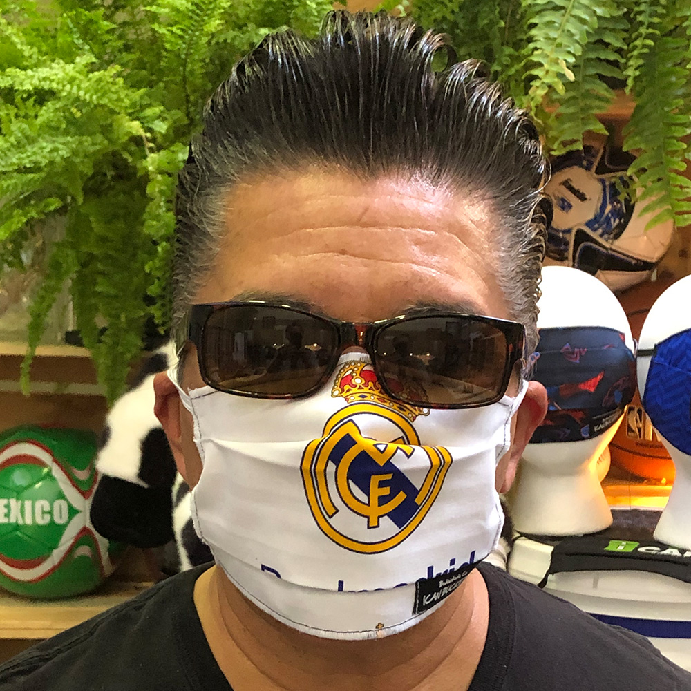 Real Madrid Soccer – Face Mask