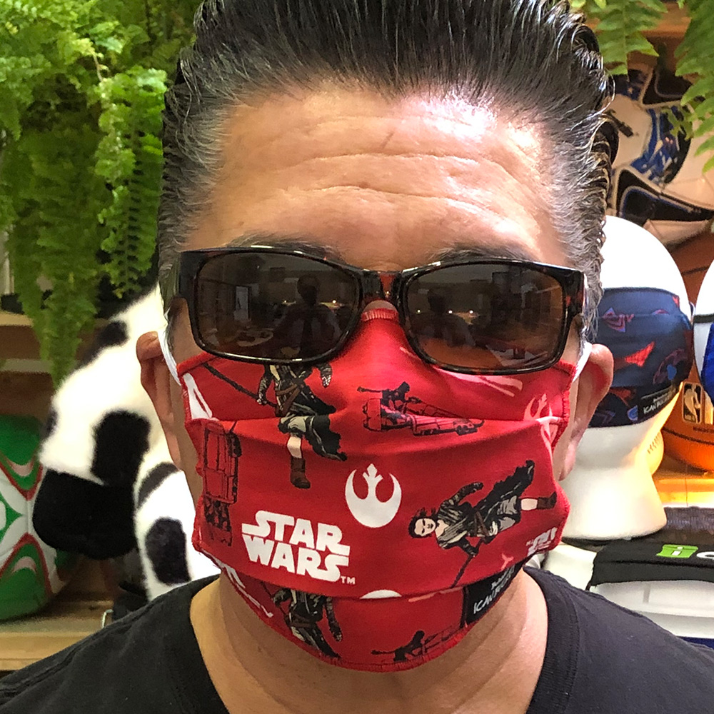 Star Wars Red Force Awakens – Face Mask