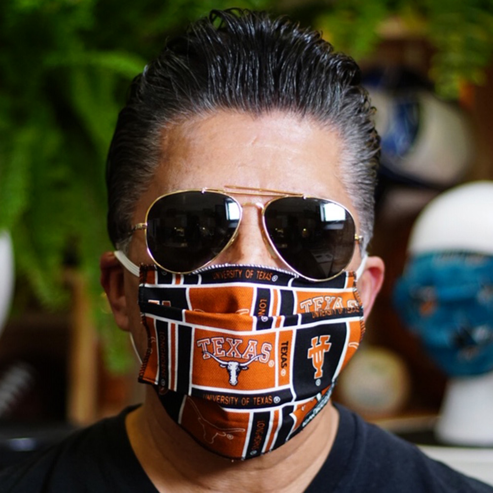 Ican Face Mask – Texas Longhorns