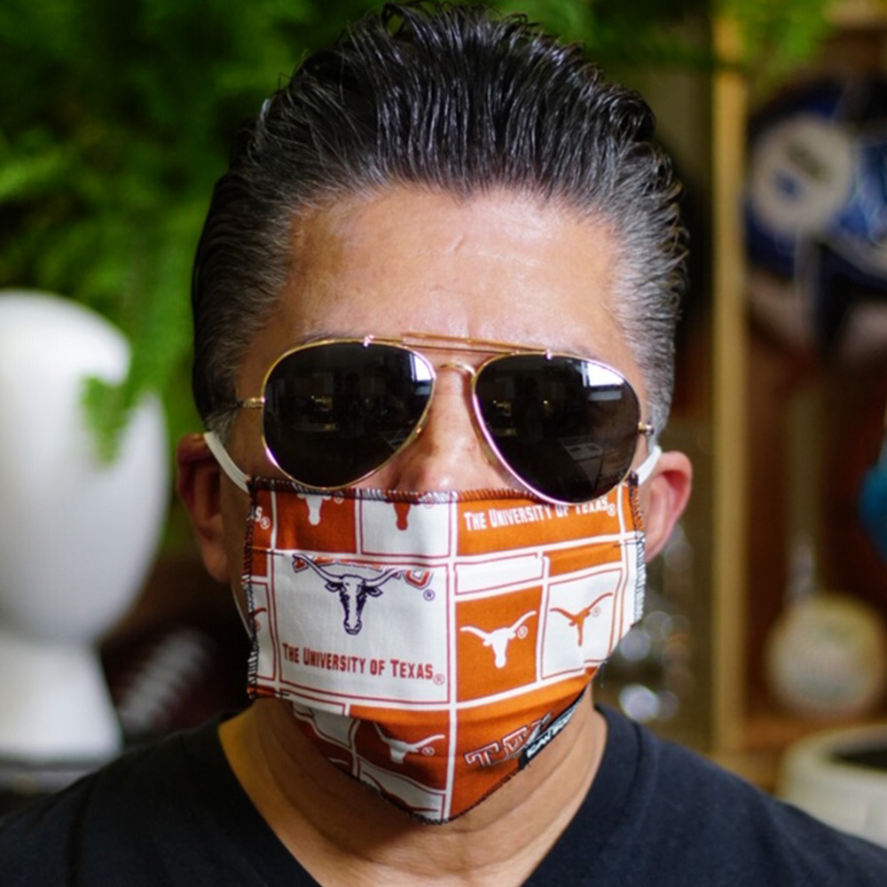 Ican Face Mask – Texas Longhorns V2