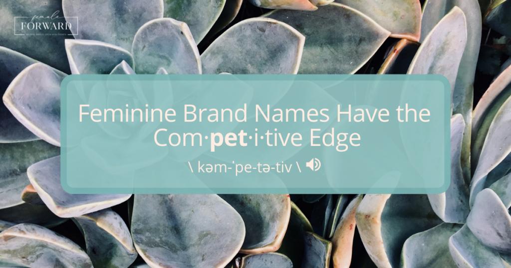 female branding names