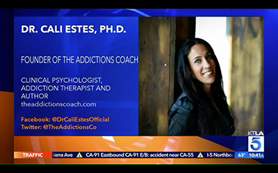Dr. Cali Estes, PH.D Founder of the Addictions Coach.