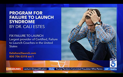 Program for Failure To launch Syndrome By Dr. Cali Estes.