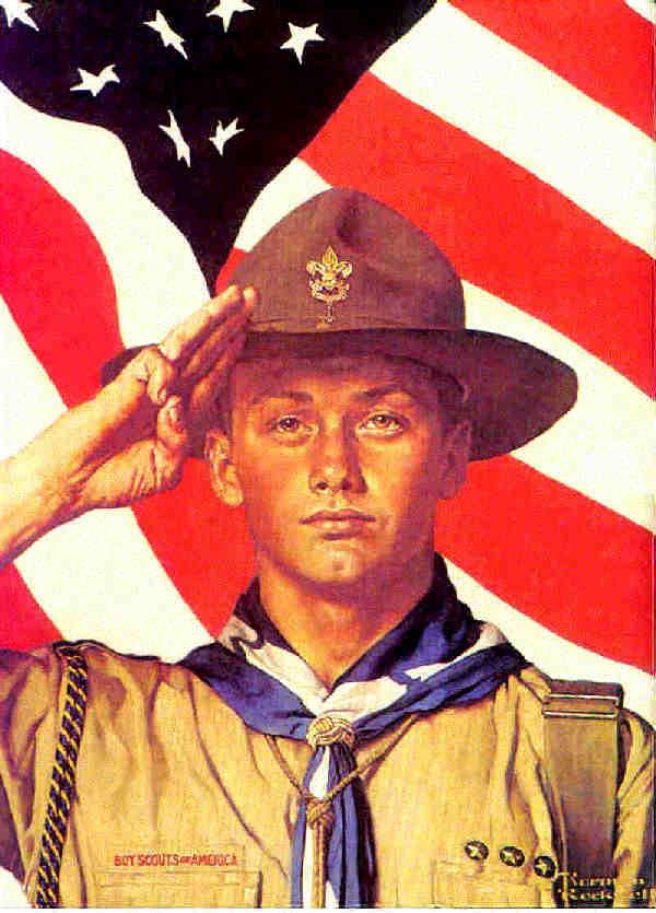 Norman Rockwell Boy Scouts