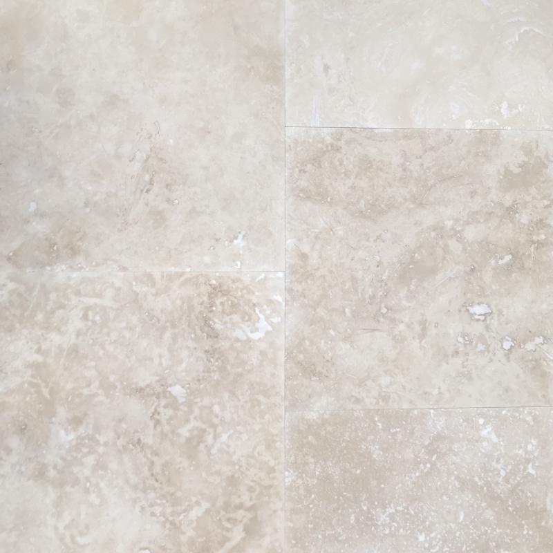 Medium Travertine filled