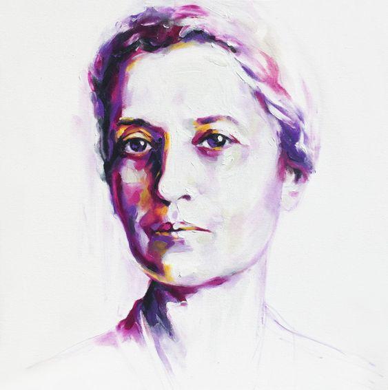 Lise-Meitner by Zsuzsa Szvath