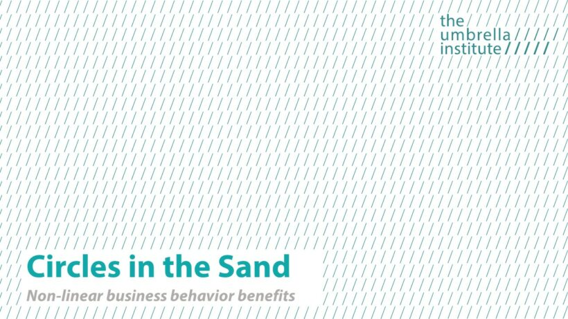 Encouraging non-linear business behaviour in the UAE & highlighting the financial benefits