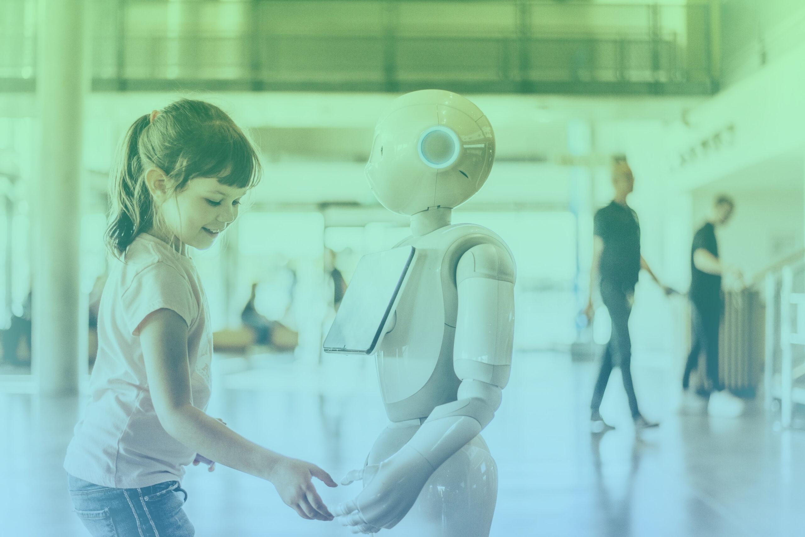 man versus robot