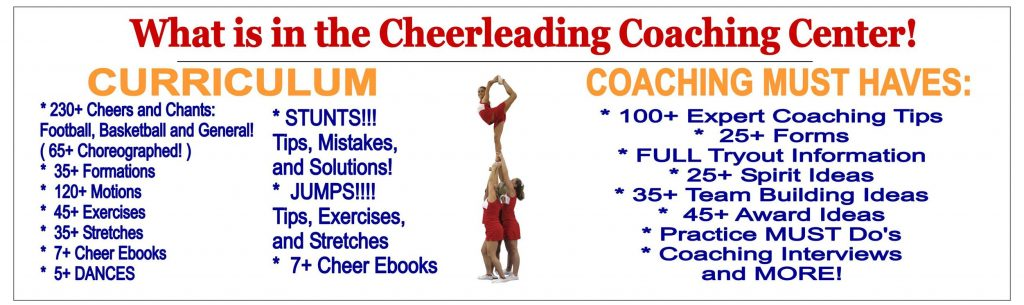 Cheerleading Coaching Center — The Ultimate Resource for