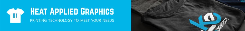 Custom Jerseys - Keller Embroidery - heat applied graphics
