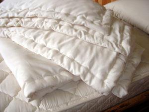 wool comforter